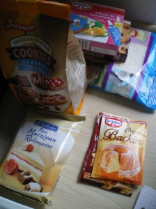 Zutaten Krümelmonster-Muffins
