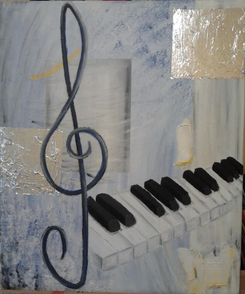 Dritter Schritt - Klaviatur und Notenschlüssel
