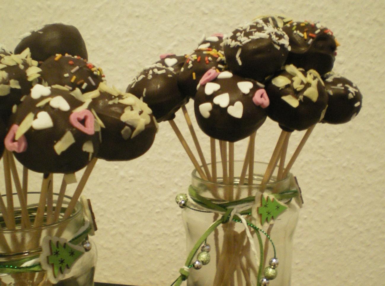 Lebkuchen-Cakepops