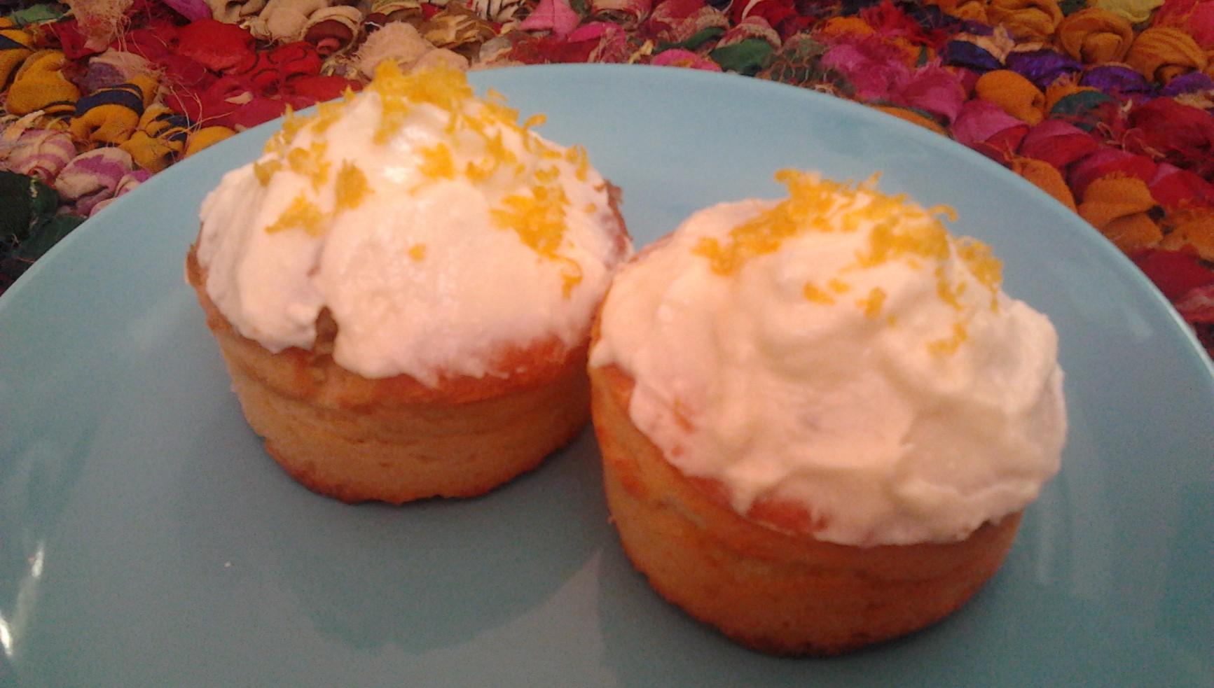 Zitronen-Cupcakes