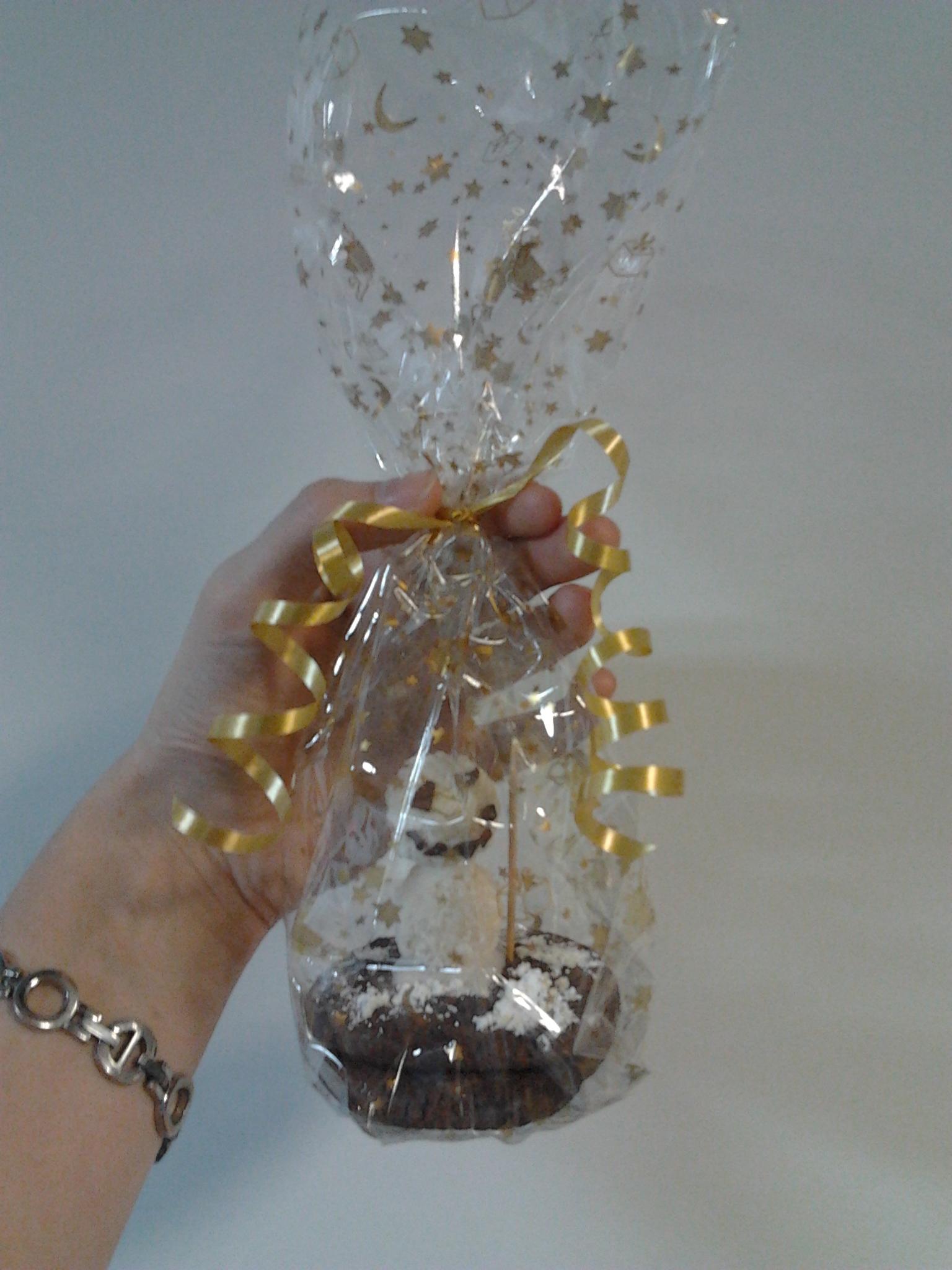 Triple-Chocolate-Cookies als Weihnachtsgeschenk