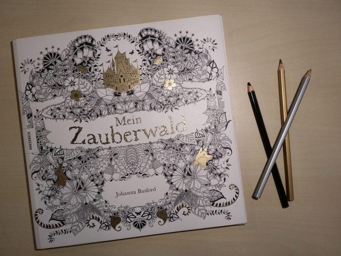 Ausmalbuch Mein Zauberwald