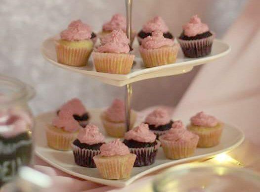 Mini Cupcakes zur Hochzeit