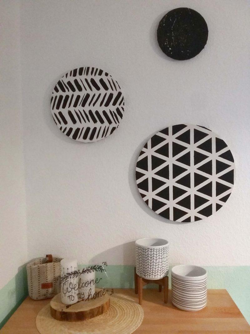Keilrahmen im geometrischen Stil - Titelbild